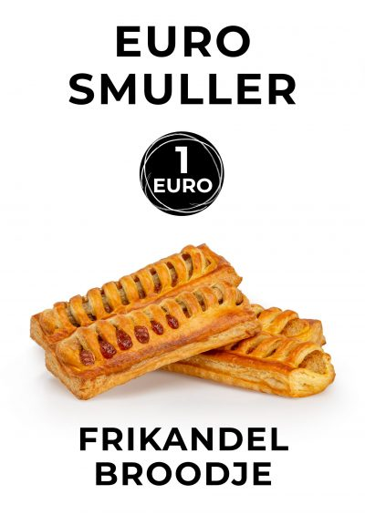 Euro frikandelbroodje